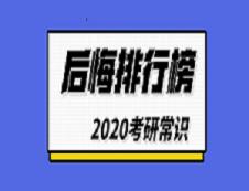 2020考研常识:考研后悔排行榜