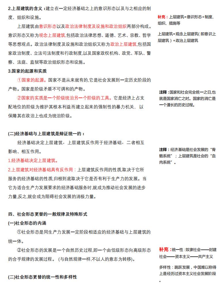 2021考研政治:马克思主义基本原理概论必背考点(V)