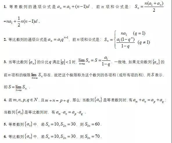 2021考研管综备考:管理类联考数学常用公式大盘点